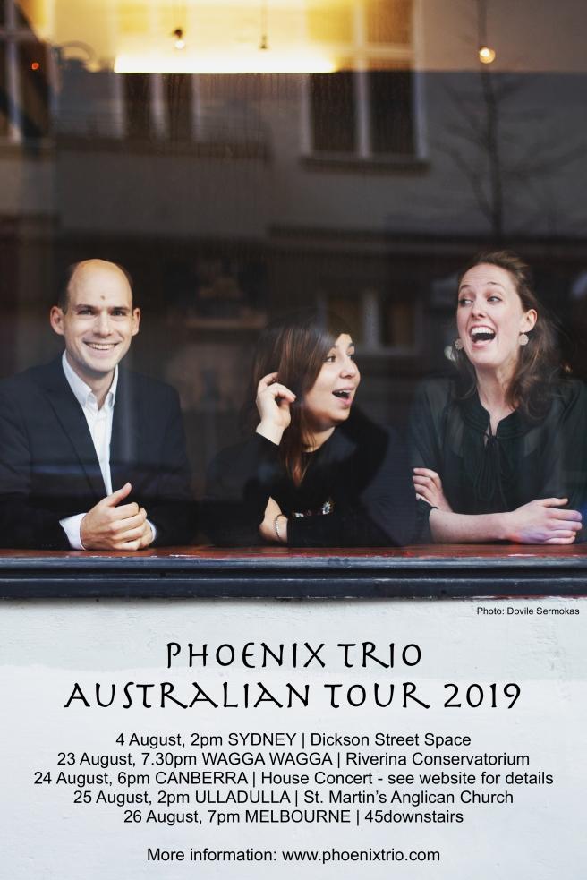 2019 Phoenix Australia dates